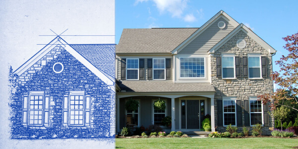 Home Addition Rendering